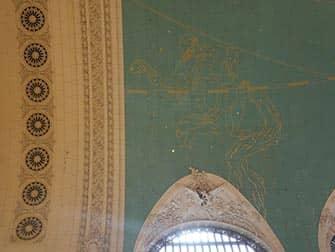 그랜드 센트럴 터미널 - 천문학적 천장