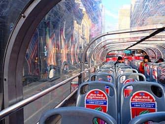 뉴욕 그레이라인 시티투어 버스 꼭대기