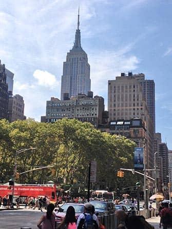뉴욕 그레이라인 시티투어 버스 - 엠파이어 스테이트 빌딩