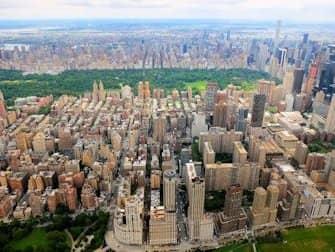 뉴욕 헬리콥터 투어 노선 - 센트럴 파크