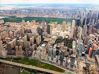 뉴욕 헬리콥터 투어 센트럴 파크