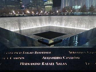 뉴욕 911 메모리얼 - 야간