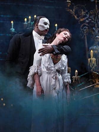 브로드웨이 뮤지컬 오페라의 유령 - 유령과 크리스틴