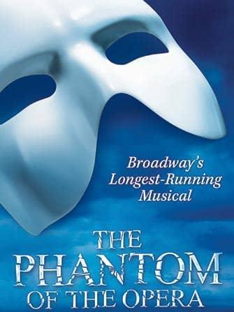 브로드웨이 뮤지컬 오페라의 유령 - 포스터