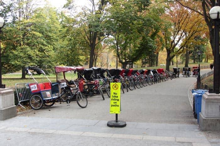 센트럴파크 - 자전거 택시