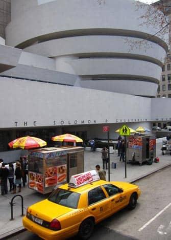 뉴욕 구겐하임 박물관 - 택시