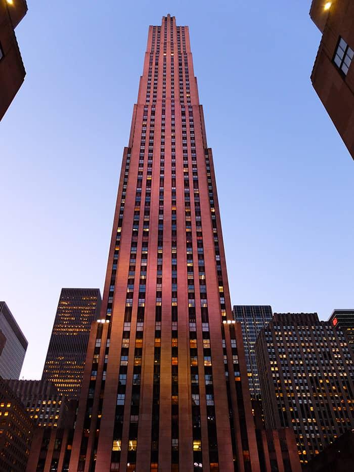 뉴욕 록펠러센터 - 콤코스트 빌딩