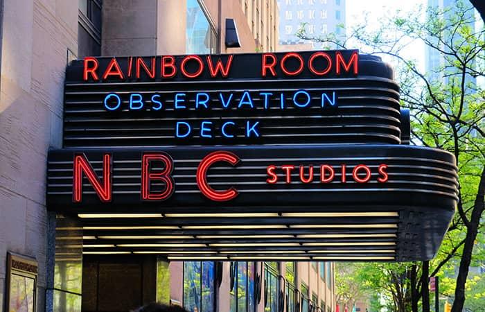 뉴욕 록펠러센터 - NBC