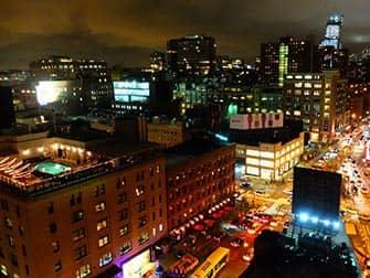 뉴욕 루프탑바 - 갱스브루 호텔 뷰
