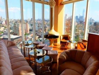 뉴욕 루프탑바 - 탑 오브 더 스탠다드 뷰