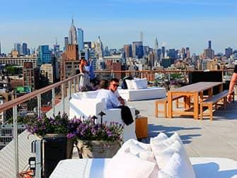 뉴욕 루프탑바 - 퍼블릭호텔 더 루프(The Roof)
