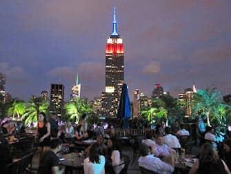 뉴욕 루프탑바 - 230 fifth와 엠파이어 스테이트 빌딩