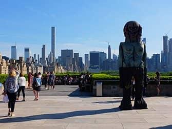 뉴욕 메트로폴리탄 미술관 - 옥상 정원