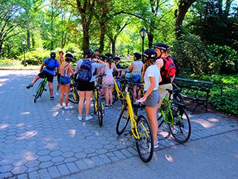 뉴욕 센트럴파크 - 자전거 투어