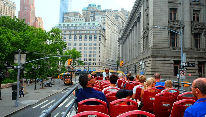 뉴욕 시티투어 버스 - 관광
