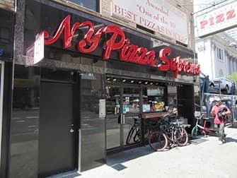뉴욕 피자 수프리마 전경