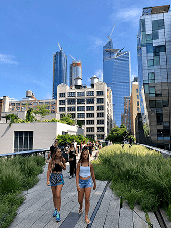 뉴욕 하이라인 파크 - 여름