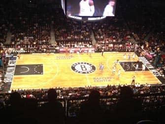 브루클린 네츠 - 농구 코트