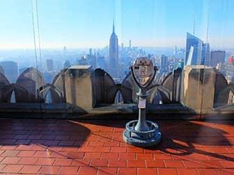 탑 오브 더 락 티켓 - 전망대