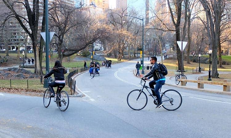 뉴욕에서 자전거 타기