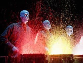 뉴욕 블루맨그룹 티켓 - 젖은 드럼
