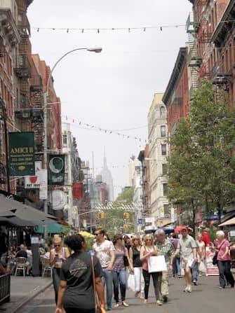 뉴욕 섹스 앤 더 시티 투어 - 거리