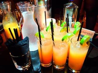 뉴욕 클럽체험 - 술