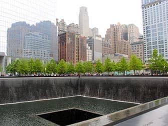 뉴욕 파이낸셜 디스트릭트 투어 - 911 메모리얼