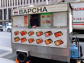 뉴욕 길거리 음식 - 밥차