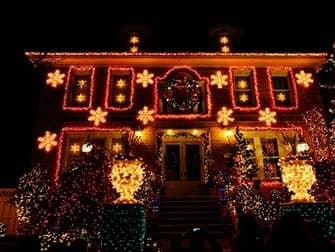 뉴욕 다이커 하이츠 - 크리스마스 라이트