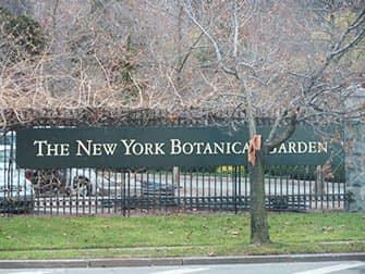 뉴욕 브롱크스 - 식물원