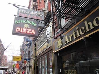 뉴욕 웨스트빌리지 푸드투어 - 아티초크 피자