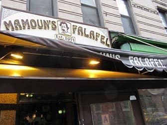 뉴욕 웨스트빌리지 푸드투어 - Mamouns Falafel