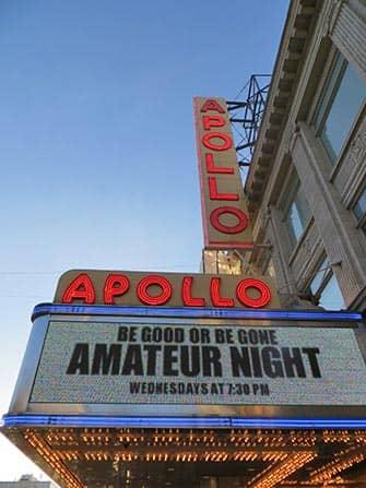 뉴욕 할렘 - 아폴로 극장