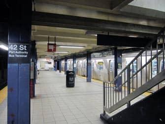 뉴욕의 지하철 - 지하철역