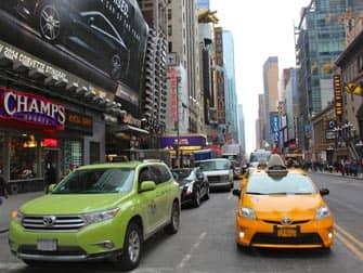 뉴욕의 택시 - 라임&옐로우 캡