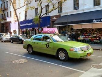 뉴욕의 택시 - 라임택시