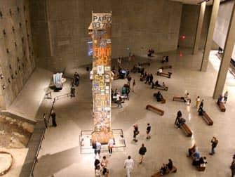 뉴욕 911 박물관 - 내부