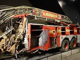 뉴욕 911 박물관 - 소방차