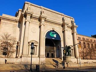 뉴욕의 새해 - 미국자연사박물관