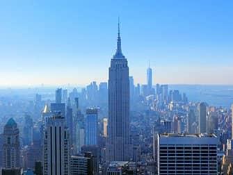 뉴욕의 새해 - 탑 오브 더 락에서의 뷰