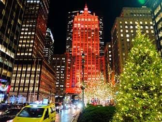뉴욕의 크리스마스 시즌 - 장식