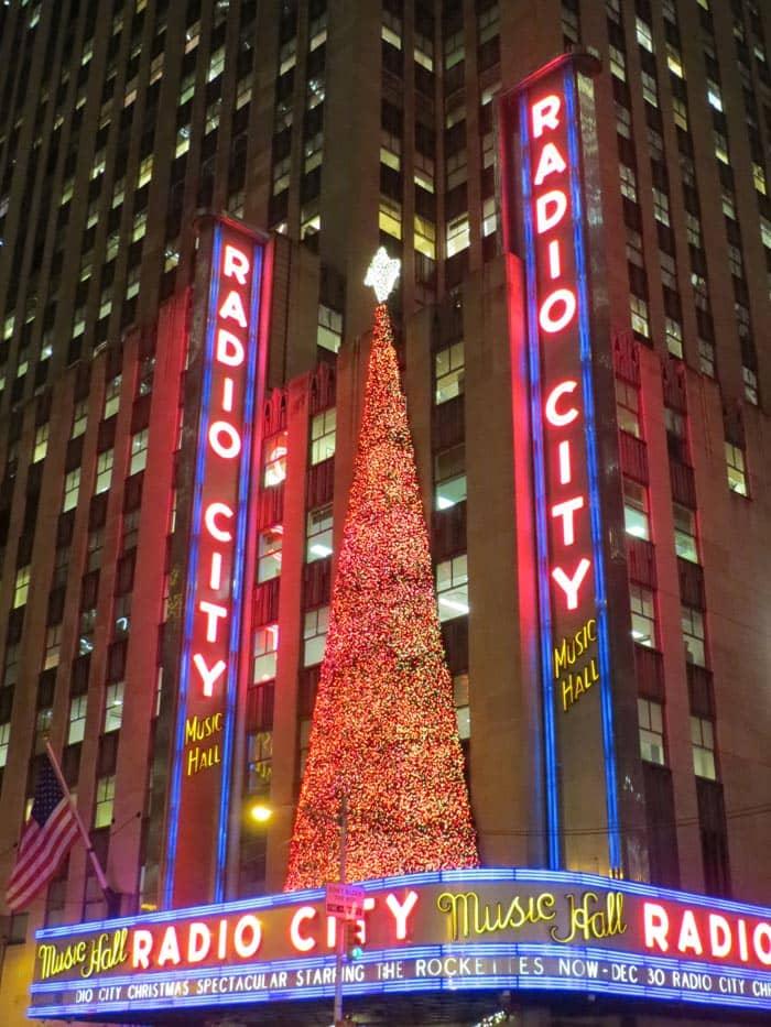 뉴욕 라디오시티 크리스마스 스펙타큘러