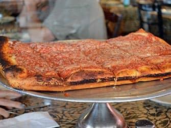 뉴욕 피자 투어 - 스푸모니 가든