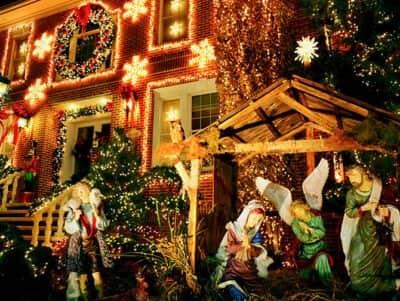다이커 하이츠 크리스마스 라이트 - 성탄도
