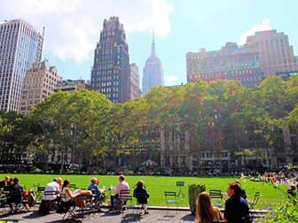 뉴욕의 공원 - 브라이언트 파크