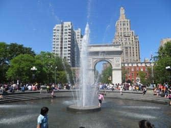 뉴욕의 공원 - 워싱턴 스퀘어 공원