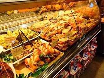 뉴욕의 점심 식사 - 샌드위치