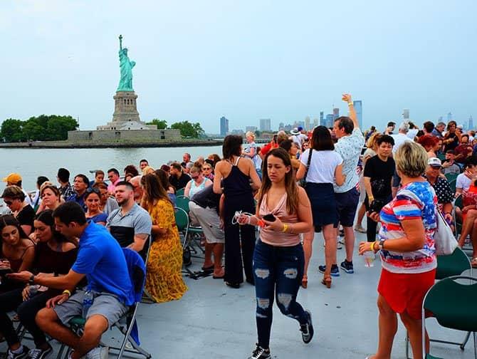 뉴욕 독립기념일 - 불꽃놀이 크루즈