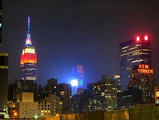 뉴욕 독립기념일 - 엠파이어 스테이트 빌딩
